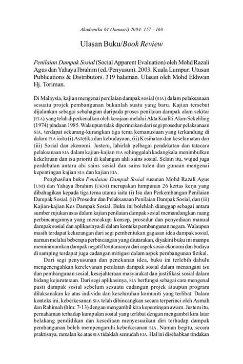 bentuk format artikel jurnal ulasan buku contoh ulasan jurnal