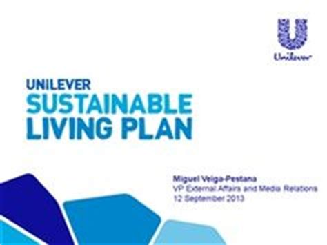 powerpoint templates unilever unilever sustainable living plan a powerpoint