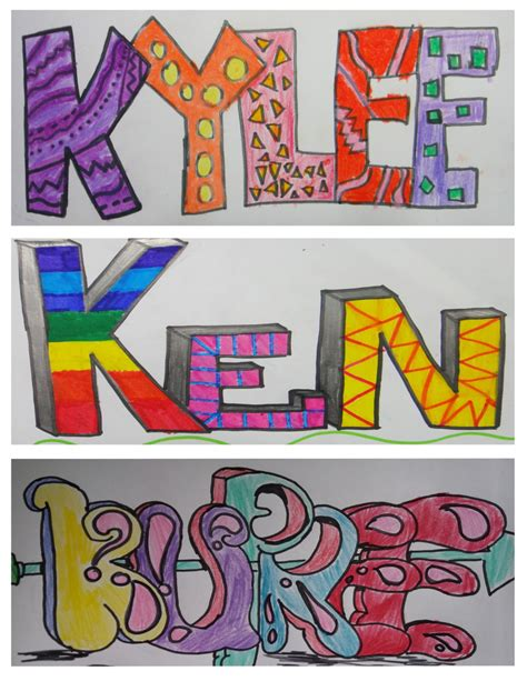 pattern name art name design and graffiti art teacher lem s art class