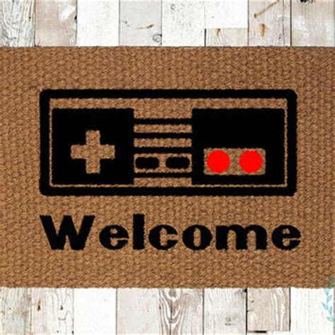 Nintendo Rug by Elfin Thread Gaspard The Bulldog From Elfinthread