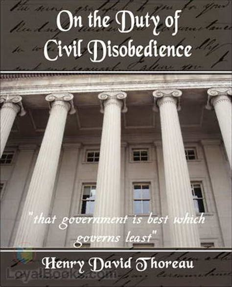 walden book project on the duty of civil disobedience by henry david thoreau