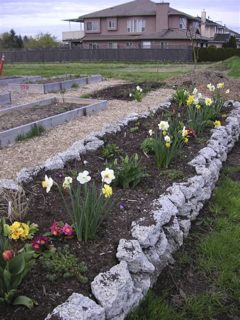 how to build a rock garden bed how to build a rock garden that bloomin garden