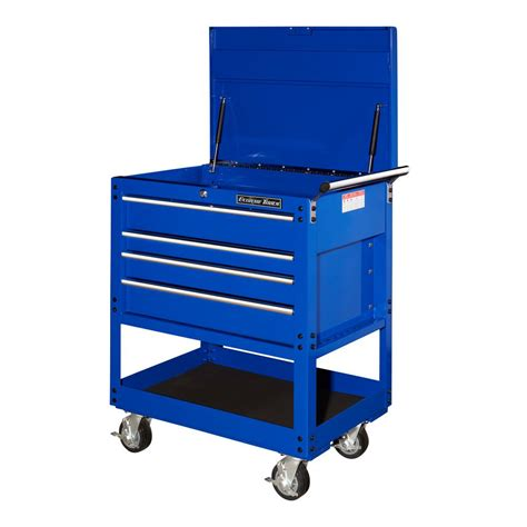 4 drawer rolling tool cart blue 4 drawer mechanic garage storage tool organizer