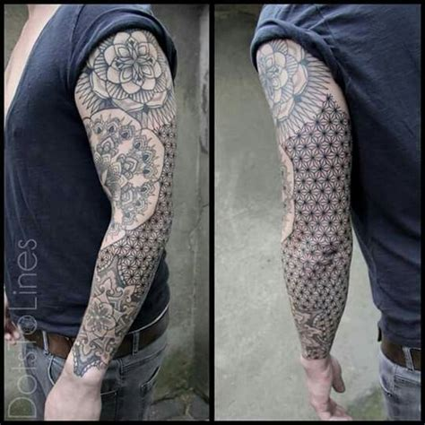 dotwork arm tattoo dotwork tattoo arm tattoo for men soft yet very manly