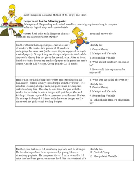 Controls And Variables Worksheet Answers by Independent And Dependent Variables Math Worksheet 6th Grade Variable Worksheets For 7th Grade