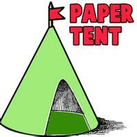 How To Make A Paper Tent - 25 best ideas about tent craft on preschool