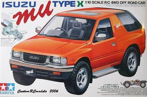 Type C Maroon Mu isuzu mu type x on the way back re release discussions tamiyaclub
