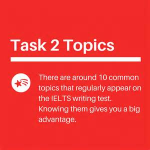 Ielts Essay Topics by Ielts Writing Task 2