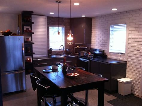 bachelors kitchen bachelor pad renovation on a budget