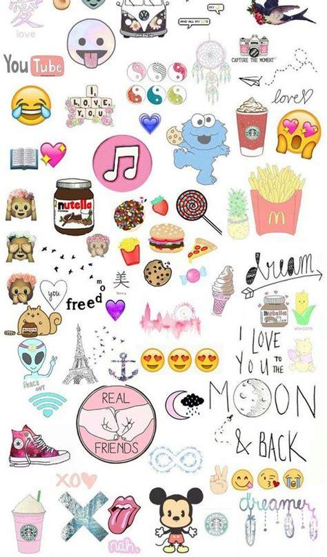 doodle para xo food emoji wallpaper search dibujos