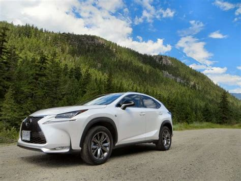 lexus crossover 2015 2015 lexus nx luxury crossover first drive and review