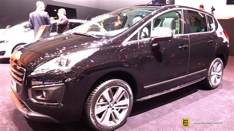 peugeot 3008 2015 interior 2015 peugeot 3008 feline thp 165 s s exterior and