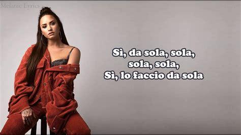 solo demi lovato lyrics e traduzione clean bandit demi lovato solo traduzione in
