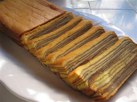 resep lapis legit lampung dunia kue coklat keju