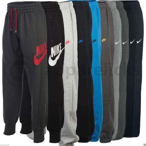 Jogger 34 Adidas Dryfit nike mens aw77 cuffed fleece drawcord joggers track sweat jog black grey ebay