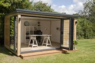 home und garten gartenhaus ideen modern garten b 252 ro design home office