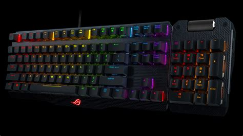 Keyboard Gaming Asus asus announces availability of the rog claymore series keyboards
