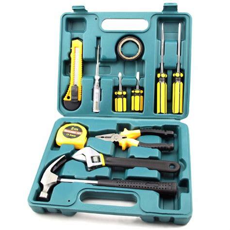 9pc Tool Set Home Repairing Tool Household Tool Kit With Pla 12pcs car repair tool set auto attendant tool household tool set kit vehicle maintenance kit