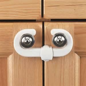 kitchen cabinet safety latches clippasafe cabinet cupboard slide locks 2 pack child