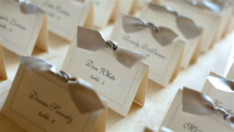 Wedding Name Tags by Dc Wedding Packages Omni Shoreham Hotel