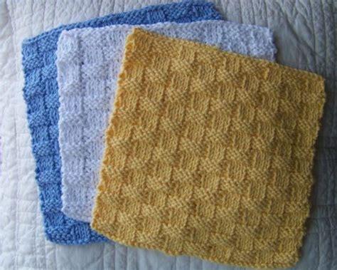 knitted basket weave dishcloth pattern kitchen dishcloth basket weave pattern simple pattern