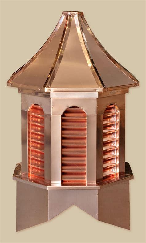 Copper Cupolas by Estate Copper Cupolas Backyard Beyond