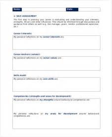 personal business plan template free 10 personal development plan templates free sle
