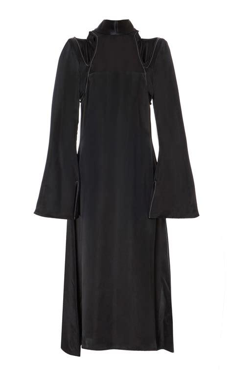 Dress Sirius beaufille sirius cut out dress in black lyst
