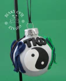 martial arts christmas ornament taekwondo christmas ornament