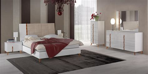Modern Sets by Made In Italy Leather Elite Modern Bedroom Sets With