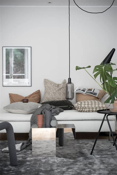 35 square meters a beautiful 35 square meter home with earthy tones and