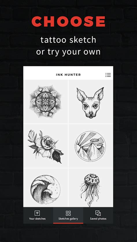design your own tattoo app inkhunter try designs android apps on play