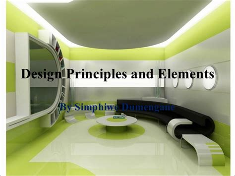 elements of interior design slideshare design principles and elements