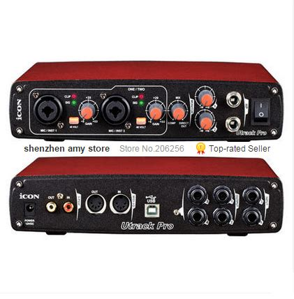 Sound Card Usb Recording aliexpress buy cheap promotions icon utrack pro