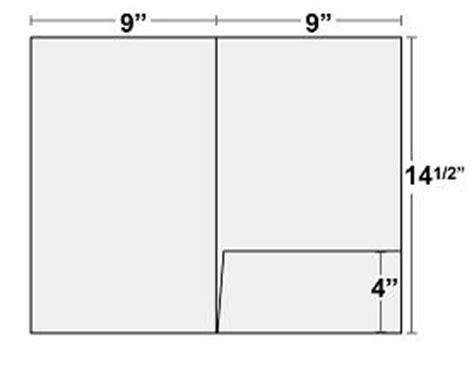 gift card holder template indesign folder templates