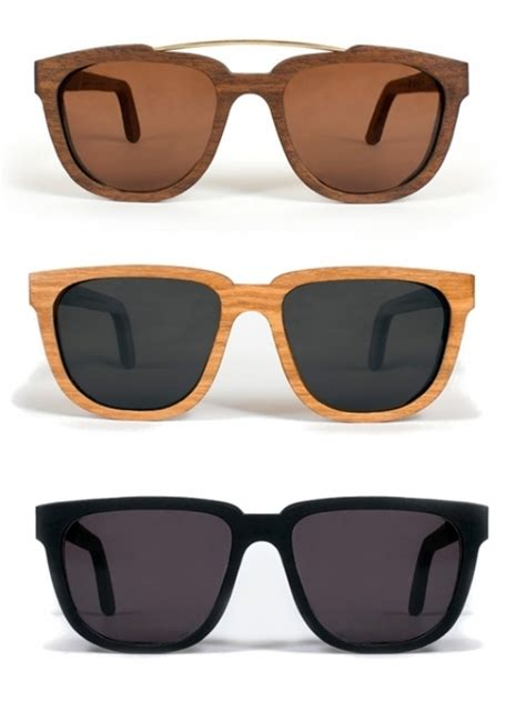 Handmade Wood Sunglasses - capital eyewear handmade wood sunglasses