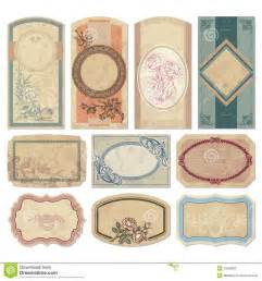 vintage label template vintage labels scrapbook ideas