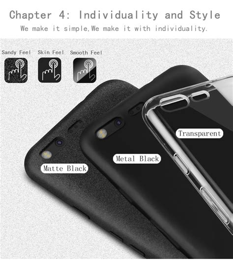 Casing Mi 5c Soft Tpu Bening X Level Anti Slip imak surrounded protection for pixel xl 5 5 clear soft tpu cover for htc nexus