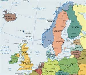 Northern Europe Map by Map Of Northern Europe Undated In 1983 And Later I