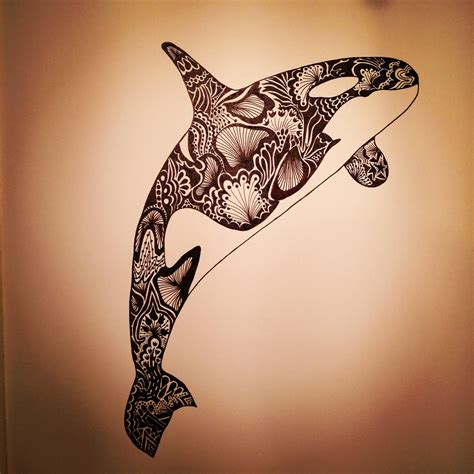 killerwhale fish blackfish sea water tattoo ideas