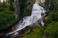 umbrella falls, hood river county, oregon northwest