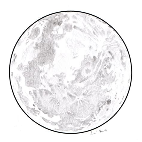 Sketches Moon by Moon Drawing Black And White Www Pixshark
