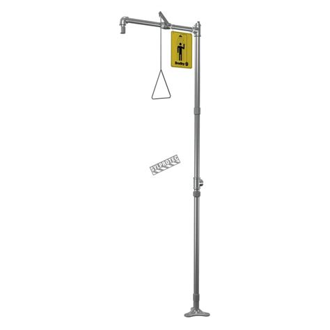 Bradley Safety Shower by Floor Mounted Emergency Safety Shower Made Of Stainless