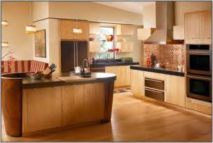 Kitchen Wall Colors by Kitchen Wall Colors With Light Wood Cabinets Painting