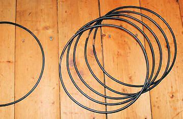 Djimbe Ring 2 djembe trommel tau seil schnur ring werkzeug