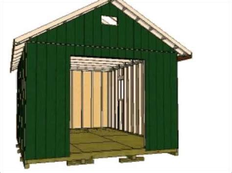 gable storage shed youtube