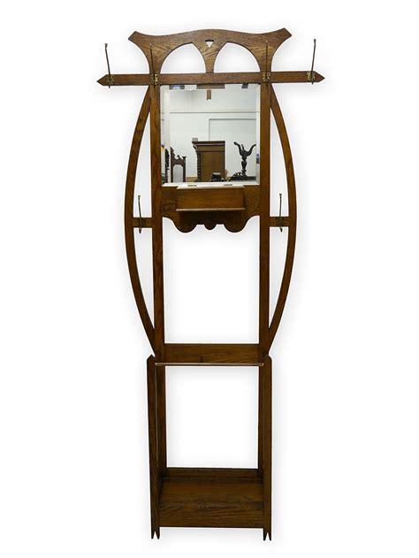 jugendstil garderobe garderobe wandgarderobe dielenm 246 bel jugendstil um 1900