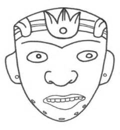 mayan masks template new calendar template site