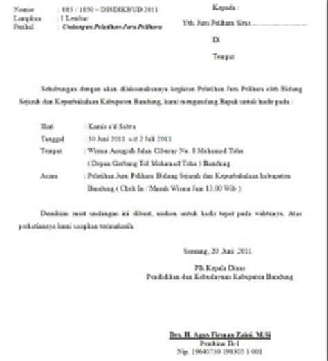 Contoh Surat Lamaran Kemenristekdikti by Contoh Surat Undangan Resmi Kegiatan Osis Bakti Sosial