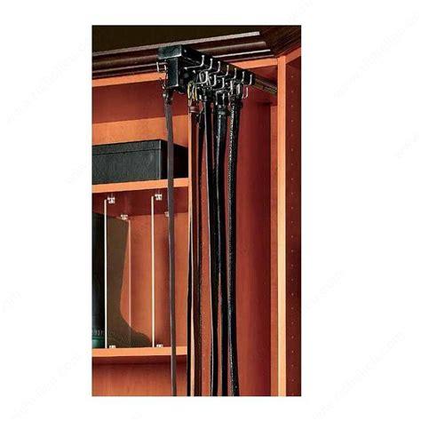 Closet Belt Rack by Top Mounted Sliding Belt Rack Richelieu Hardware